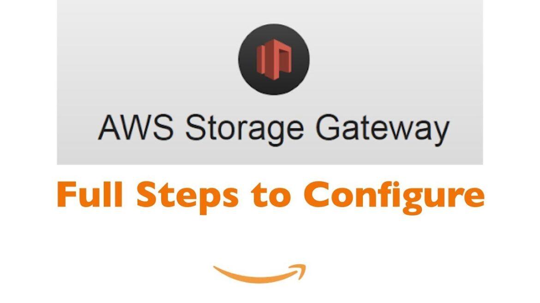 AWS Storage Gateway - Setup On Premise File Share Solution